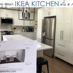 Ikea Kitchens Cabinets Drop In Kitchen Sinks Stainless Steel Building Your Own Custom The Planning Ordering Being Creative About Using Their Trim Pieces Will Make Look More