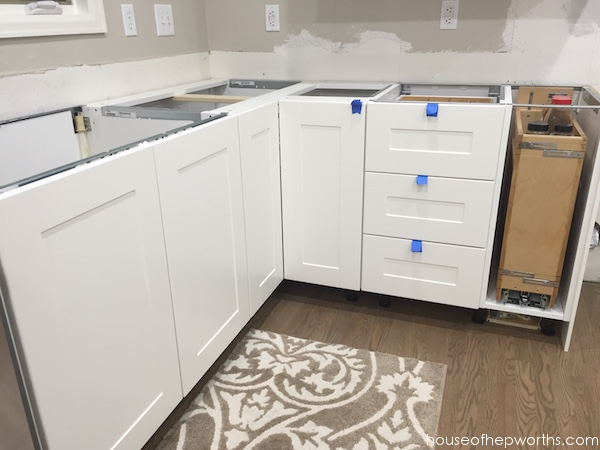 ikea kitchen countertops granite sinks installing quartz frosty carrina house of hepworths also told us that if we had the countertop company come out and wasn t 100 ready they would not template