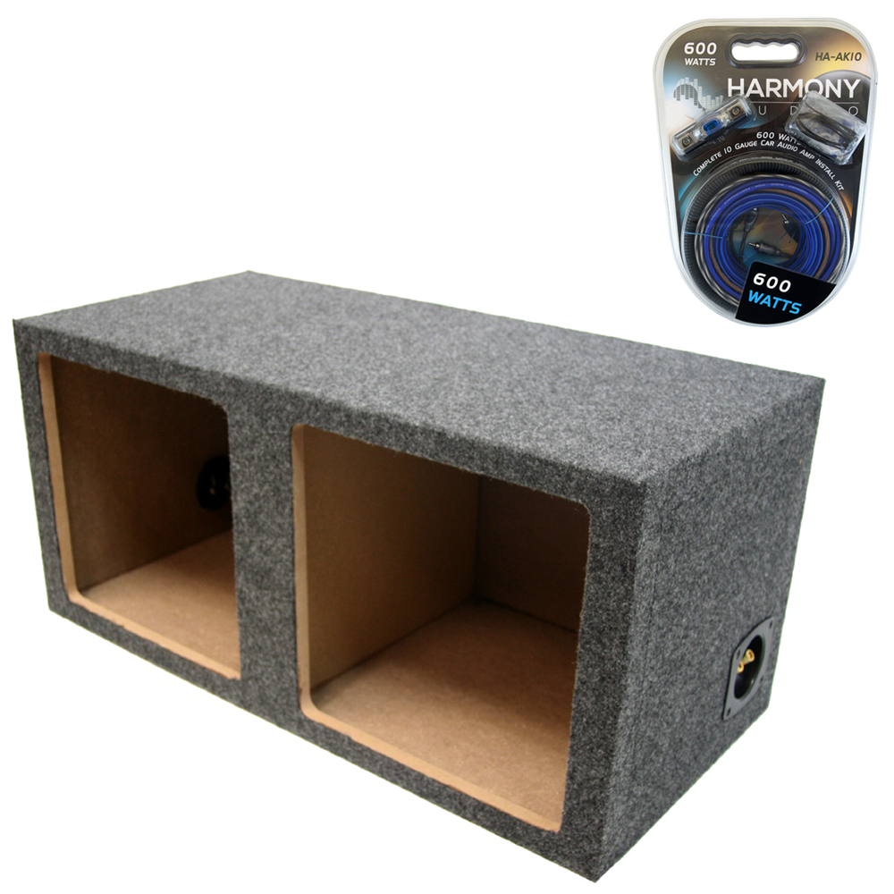 hight resolution of details about kicker dual 15 sealed solobaric l3 l5 l7 subwoofer enclosure bass box amp kit