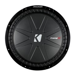 Kicker Cvr 15 Wiring Diagram Power Outlet Cwr15 Inch Car Audio Subwoofer With 2 Ohms Dual