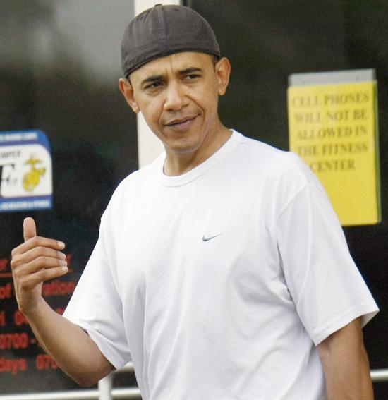obama s backwards hat