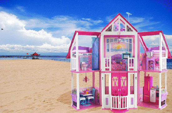 Image result for barbie's malibu dream house