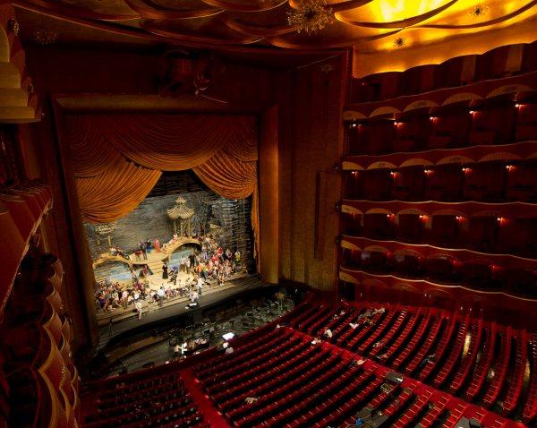 Metropolitan Opera House Stage