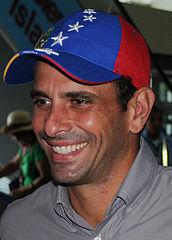 Henrique Capriles Radonski by Wilfredor via Wikimedia; Creative Commons licence