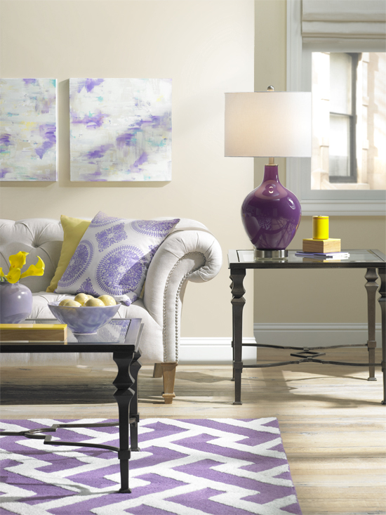 A Colorful Living Room Decorating Idea One Room Three
