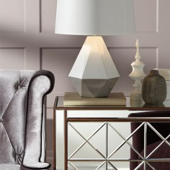 Living Room Standing Lamp Open And Kitchen Pictures Fall Home Decor Trend: Geometric Patterns On Lighting ...