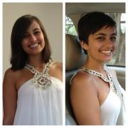 short hair social experiment