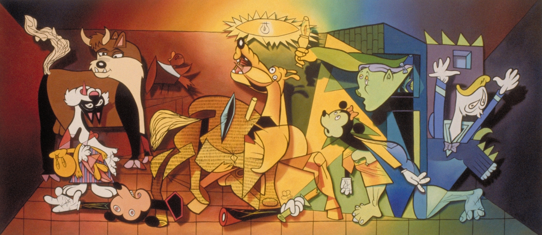 Guernica Painting Symbolism