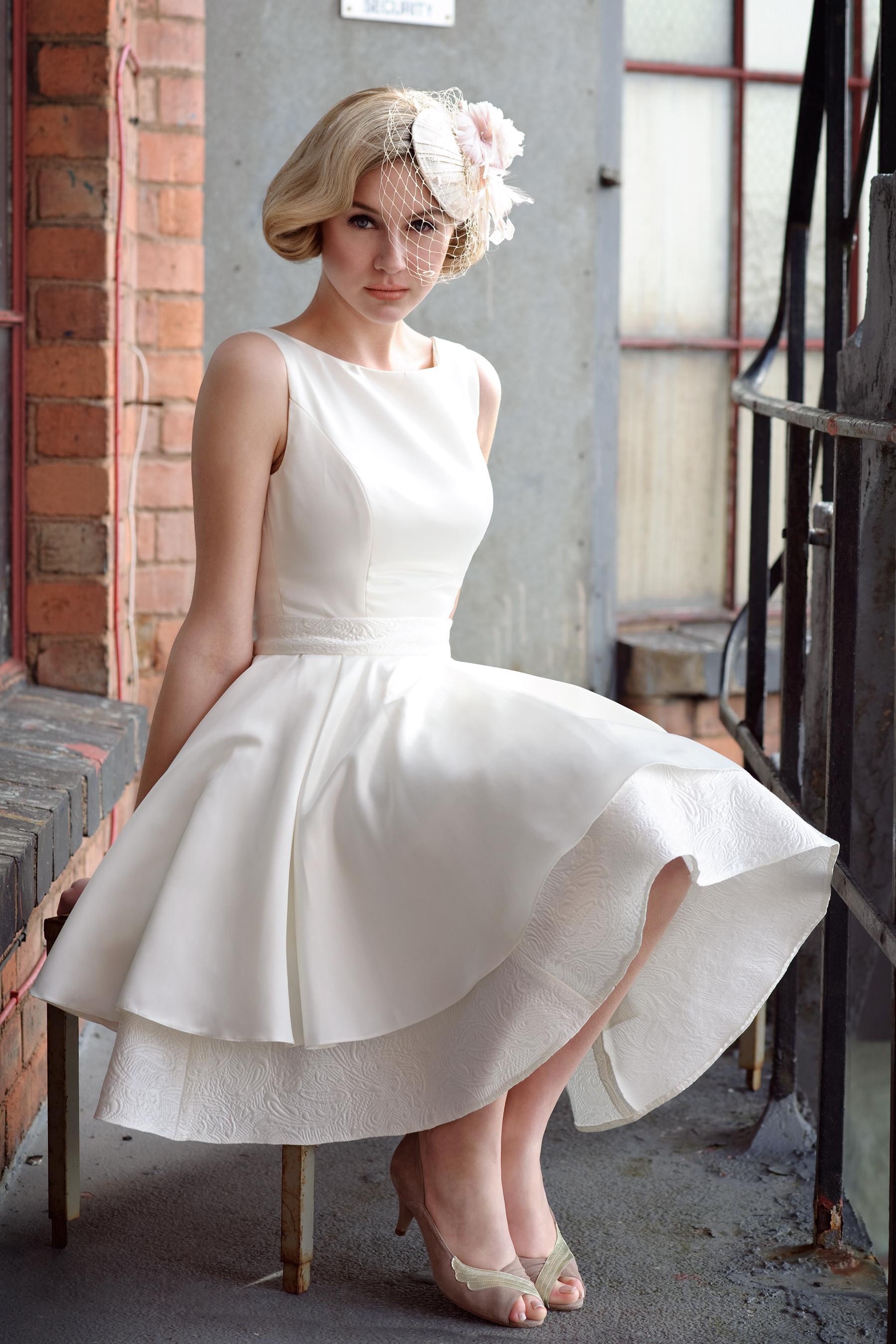How Short Wedding Dresses Are Made