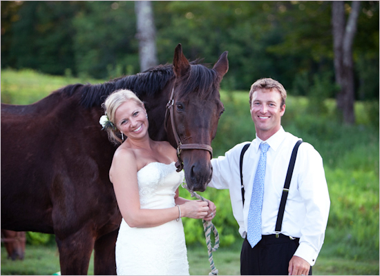 A Wedding Theme Featuring Horses