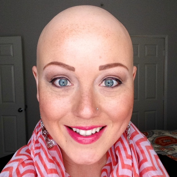 Bald Is Beautiful The Message That Got One Young Girl