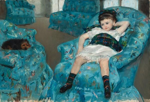 Mary Cassatt Little Girl