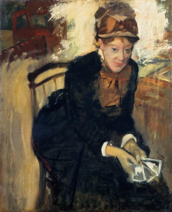 Mary Cassatt and Edgar Degas