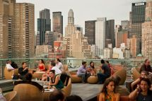 Press Lounge Rooftop Bar NYC