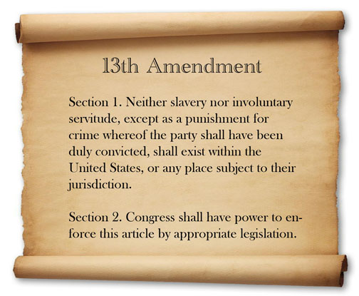 13th Amendment Image