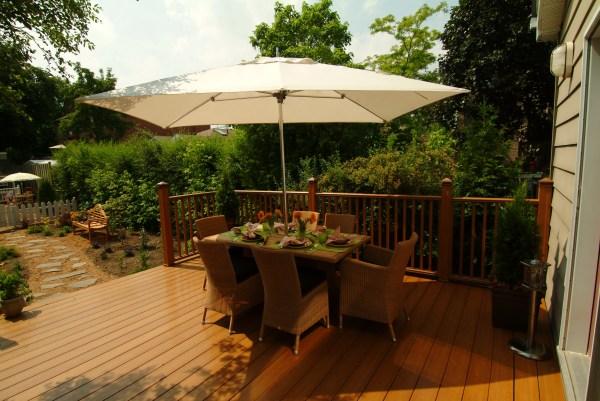 Wood Deck vs Concrete Patio