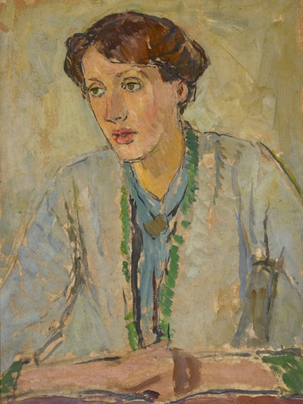Portrait of Virginia Woolf by Vanessa Bell