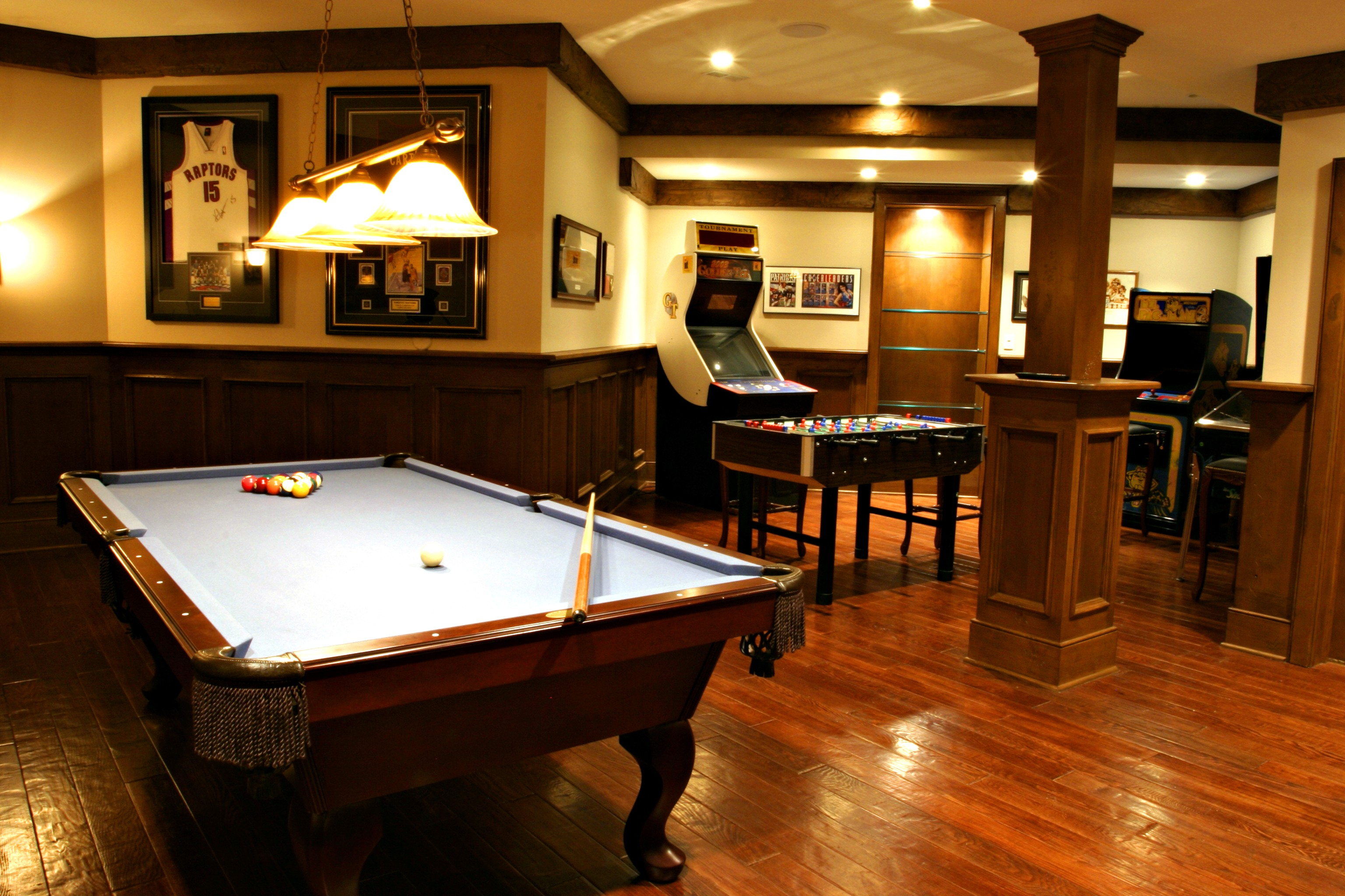 Learn what will fit and what you might want to include. 8 Rec Rooms To Inspire Your Next Game Night | HuffPost