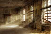 Abandoned Room Backdrops