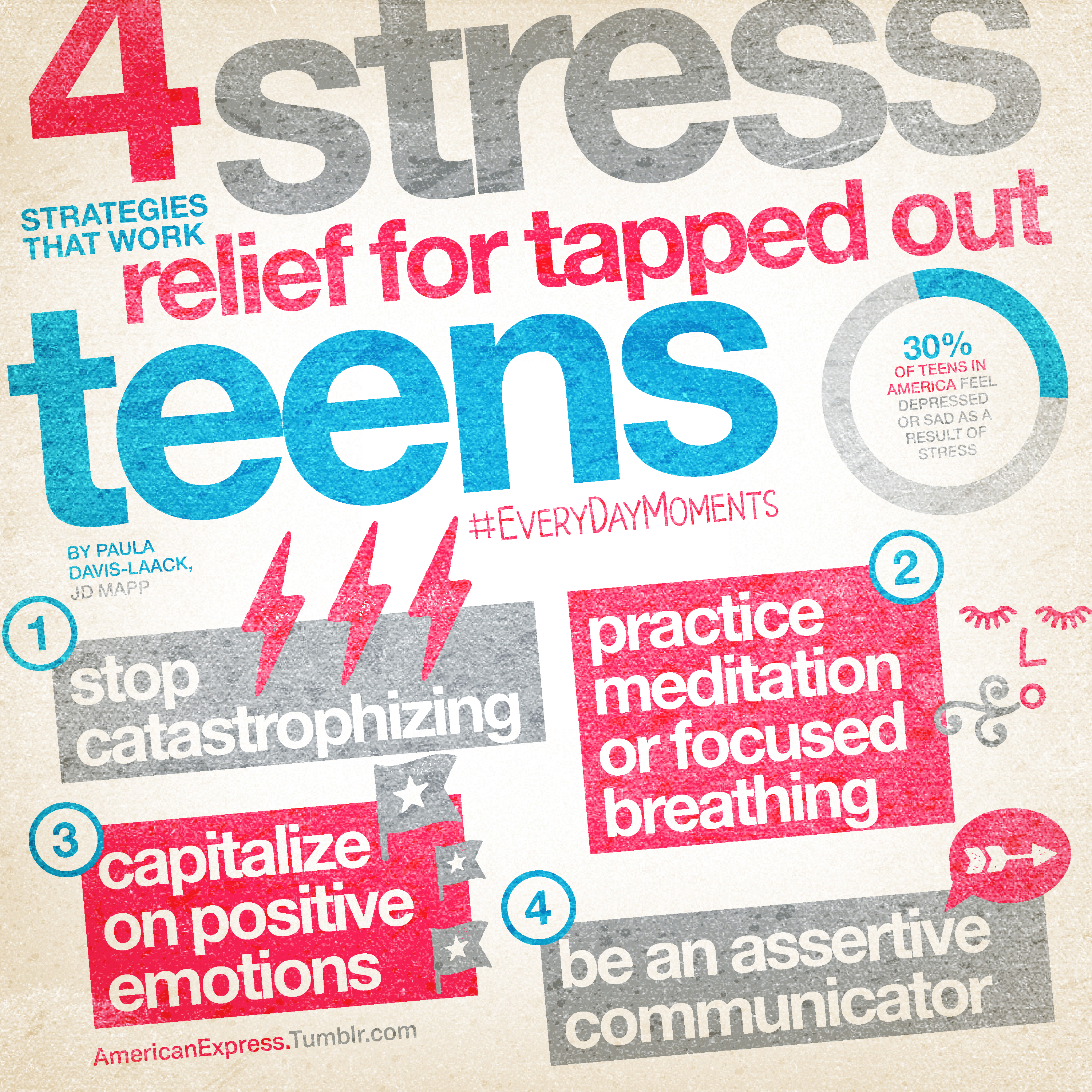 Tapped Out Teens 4 Stress Relief Strategies That Work