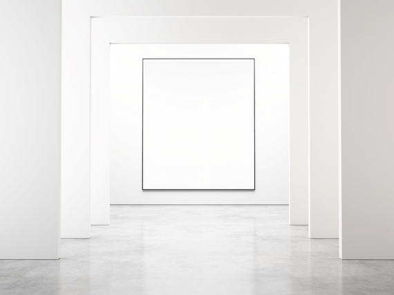 what do blank paintings