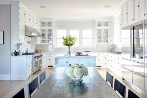 12 Luxury All white Kitchens With a Tasteful Attention to ...
