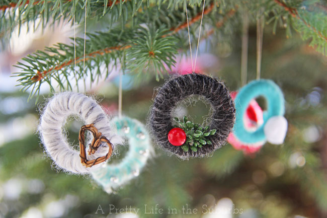 Handmade Christmas Tree Ornaments Ideas