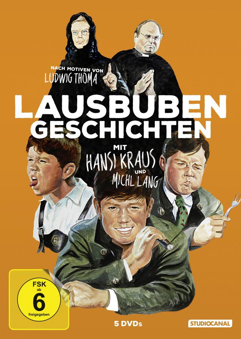 Lausbubengeschichten 5DVDBox DVD Kritik
