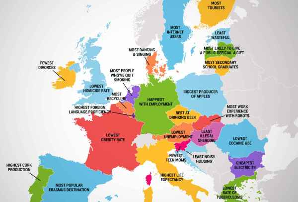 What Every Country in the European Union Is Best At HuffPost