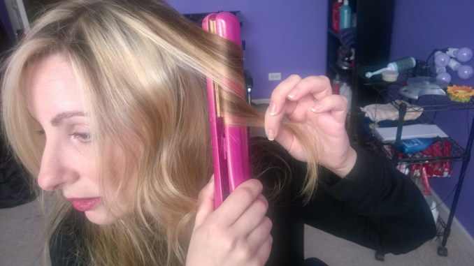 how to curl your hair with a flat iron | huffpost life
