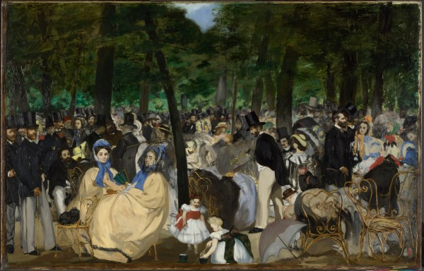 Music in the Tuileries Manet