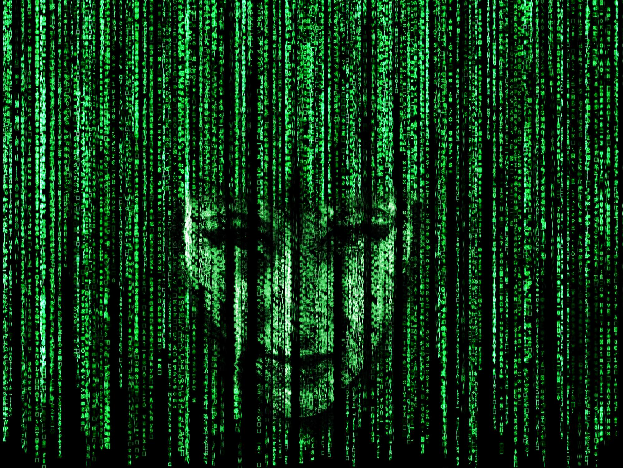 Matrix Falling Code Wallpaper Terminator Robots And Ai Risk Huffpost