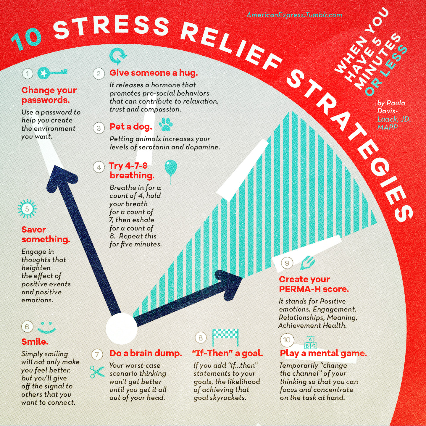 10 Stress Relief Strategies When You Have Five Minutes Or