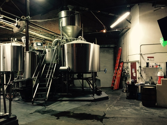 Four Peaks Brewery offers tours of its operation. (Photo by Scott Bridges)