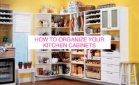 How To Organize Your Kitchen Cabinets | HuffPost