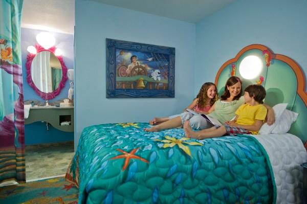 Art of Animation Resort Little Mermaid Room Disney World