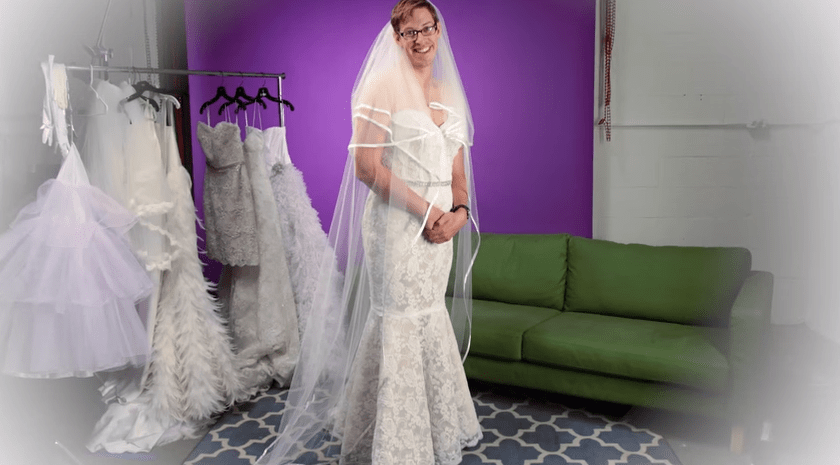 This Is What Happens When Guys Try On Wedding Dresses  HuffPost