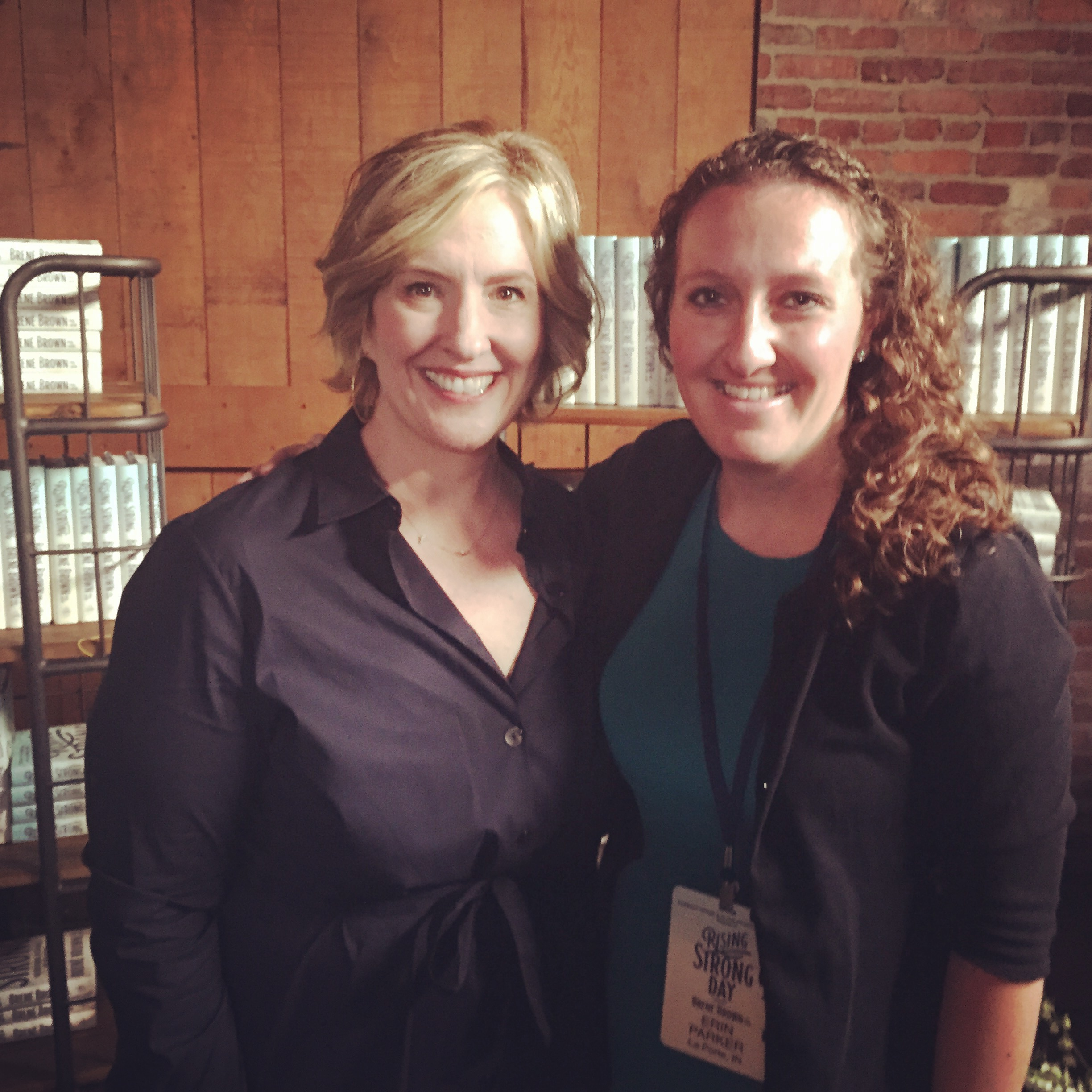 Clearing The Shelves For Dr Brene Brown