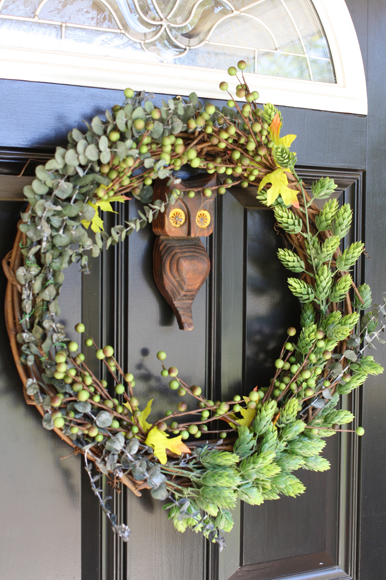 13 Diy Fall Wreaths For Your Front Door  Huffpost