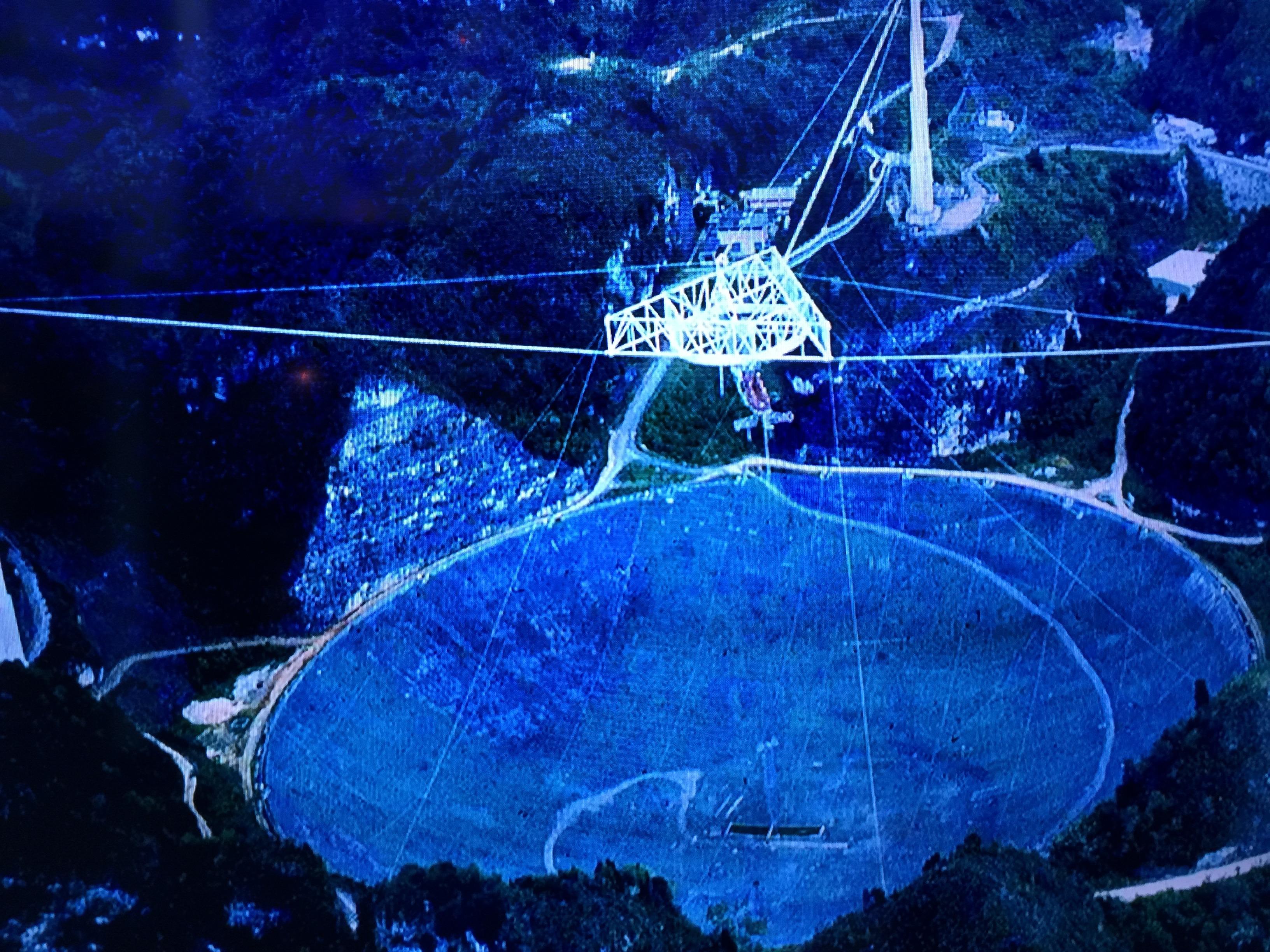 Space Phone Puerto Rico S Arecibo Observatory