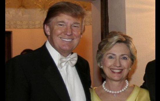 Hillary Clinton and Donald Trump - Image Copyright HuffingtonPost.Com
