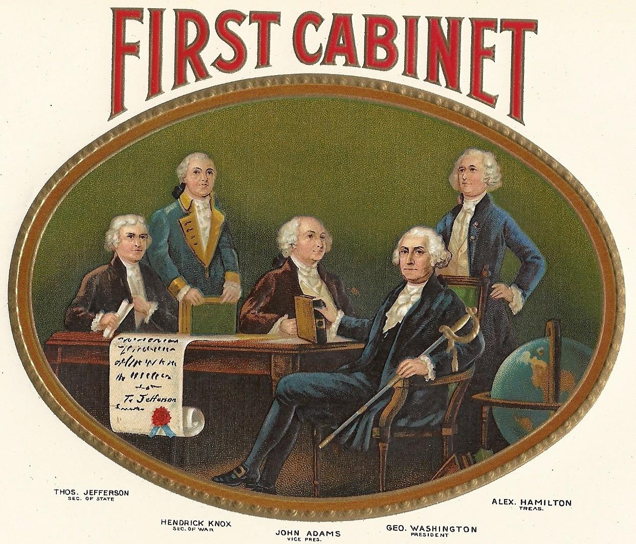 cabinet members of george washington | Everdayentropy.com