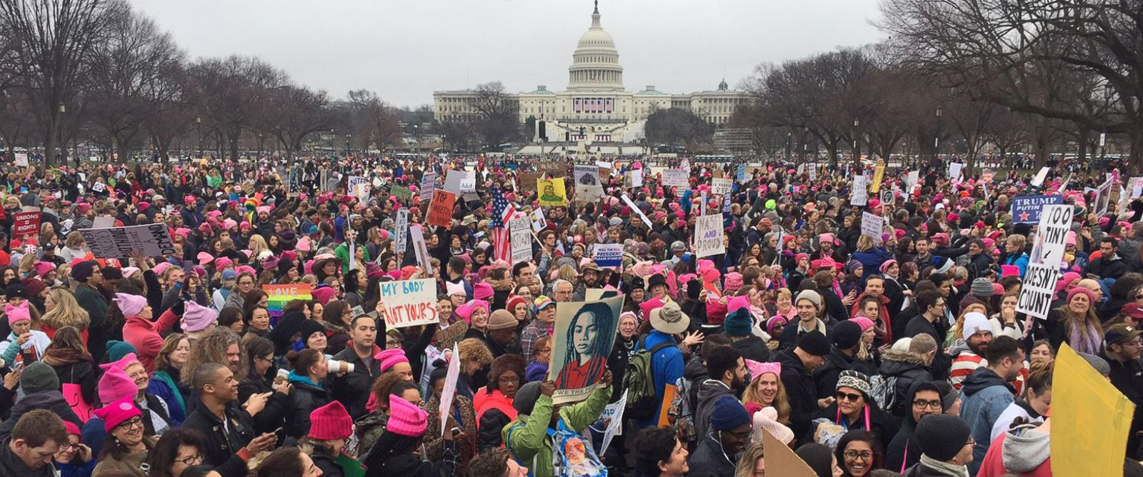 Image result for photo of the women's march