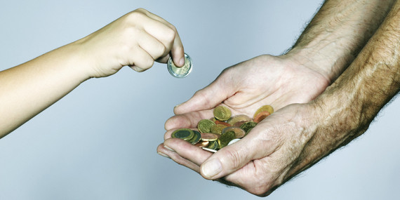 generosity in buddhism huffpost