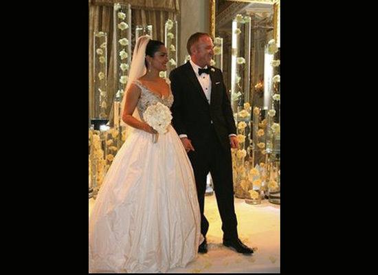 Celeb Photos: Salma Hayek's wedding