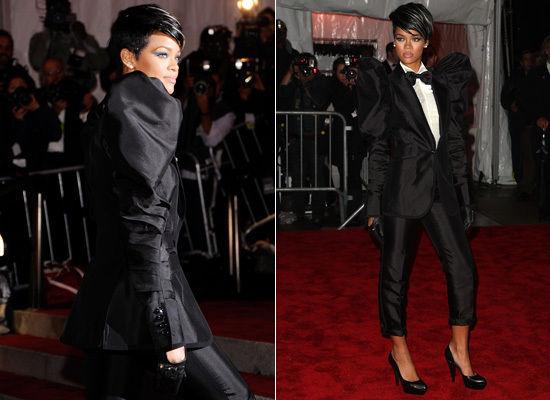 A Tuxedo Wears Rihanna