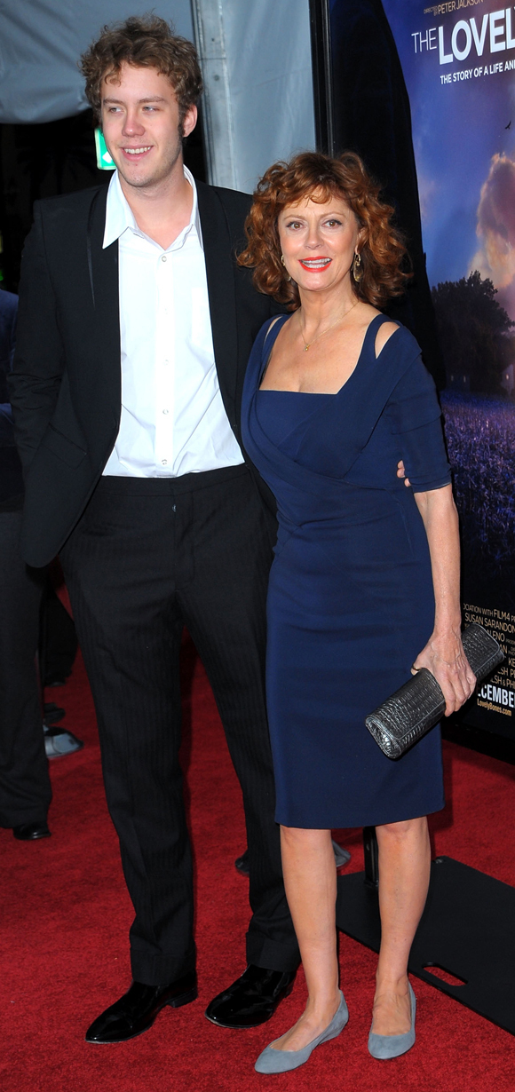 Susan Sarandon Brings Son Jack To Movie Premiere PHOTOS