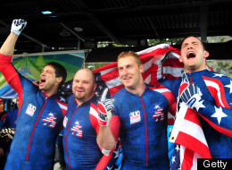 Team Usa Bobsled Gold