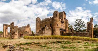 Fasilides castle in Gondar, Ethiopia