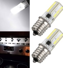 2pcs microwave led replacement light bulb for appliance  [ 1600 x 1600 Pixel ]
